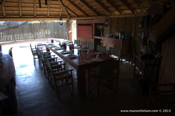 Africa-on-Foot-safari-camp-dining-area