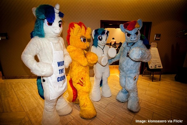 Brony costumes, quirky London events in 2014