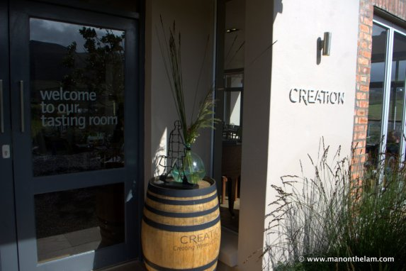 Creation Wines, Hermanus, South Africa Wine Tasting Room