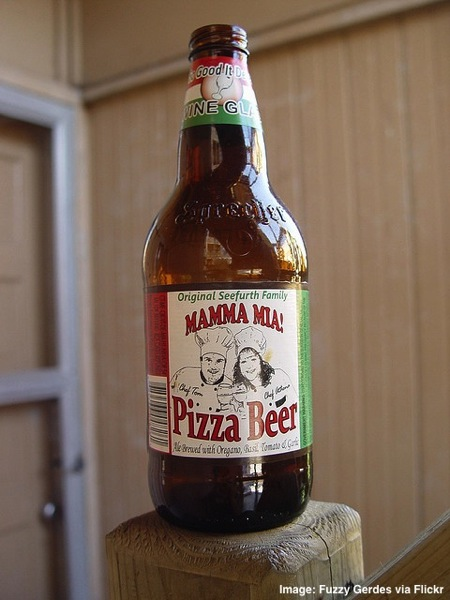 Mamma Mia Pizza Beer weird beers from around the world