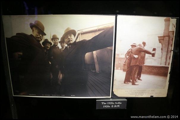 1920s vintage selfie -- Penang Camera Museum, George Town, Penang, Malaysia