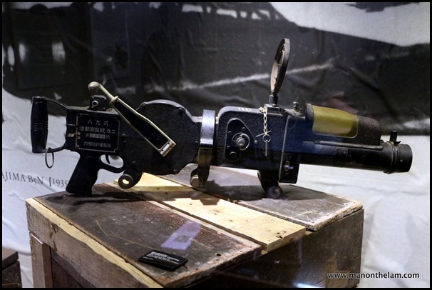 Machine gun camera -- Penang Camera Museum, Malaysia