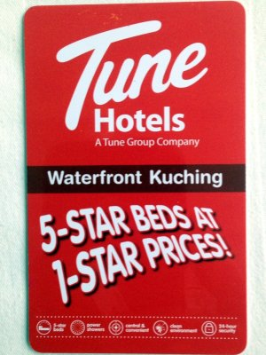 Tune Hotels, Waterfront Kuching, Malaysia