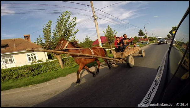 Horse and cart, Neamt County, Romania #priNeamt