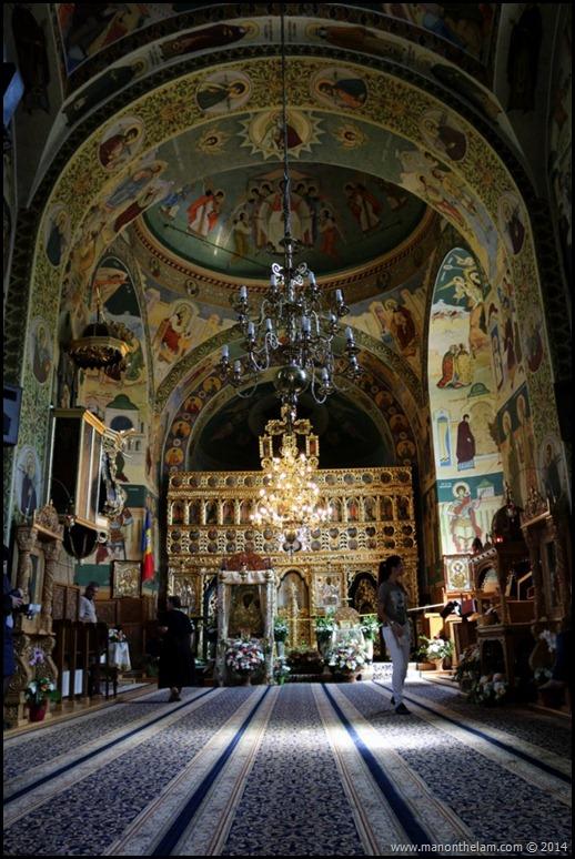 Neamt Monastery, Neamt County, Romania #priNeamt