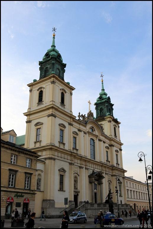 Holy Cross Church (Kosciol Swietego Krzyza) Church where Chopins heart is buried