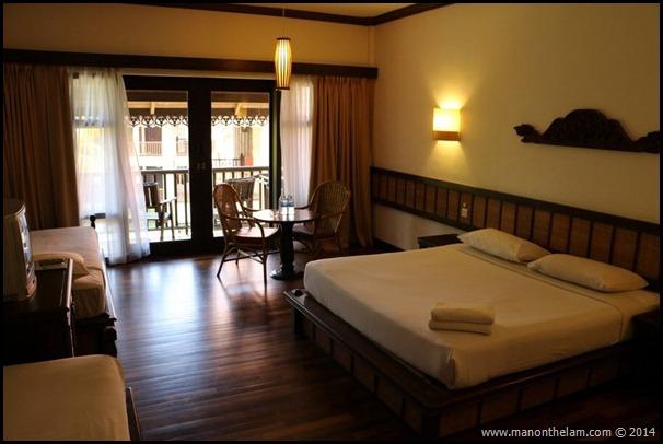 Laguna Redang Island Resort, Terengganu, Malaysia -- room interior