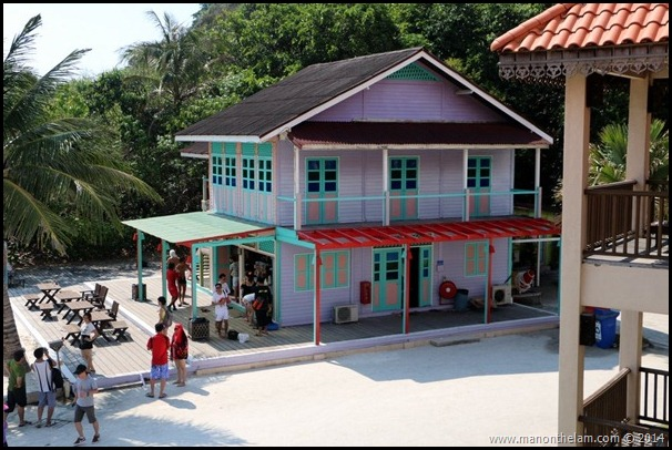 Laguna Redang Island Resort, Terengganu, Malaysia -- gift shop, tea house from movie Summer Holiday