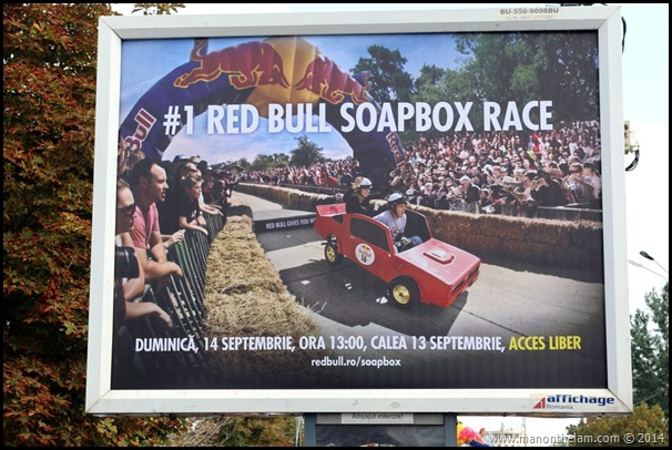 Red Bull Soapbox Race Bucharest Romania, September 2014