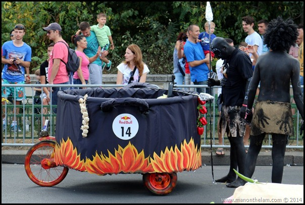 Red Bull Soapbox Race Bucharest Romania -- Vegetarian Cannibals