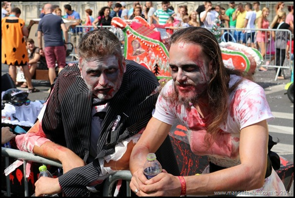 Red Bull Soapbox Race Bucharest Romania -- Zombies