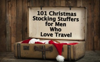 101 Stocking Stuffers for Men Who Love Travel (UPDATED NOV. 2016)