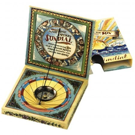 Pocket Sundial Christmas stocking stuffer gift ideas for men who love travel