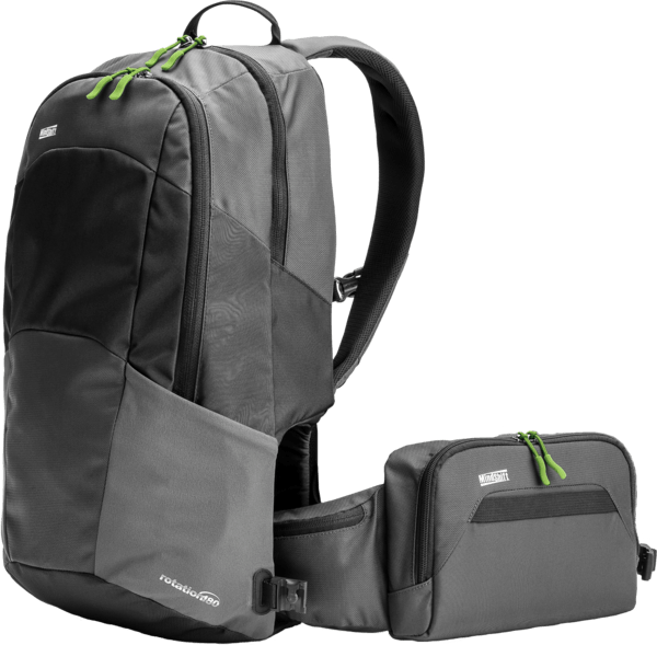 R180 MINDSHIFT TRAVEL AWAY GREY BACKPACK - Manonthelam Givewaway
