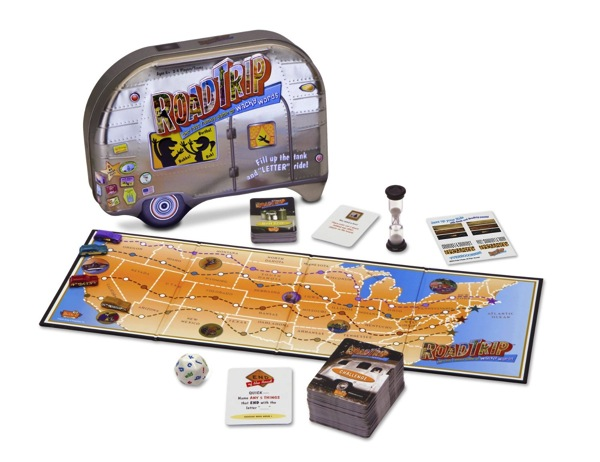 Road Trip Game Christmas Stocking Stuffer Gift Ideas for Men who Love Travel