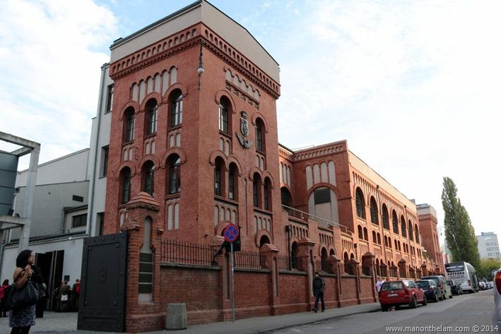 Warsaw Uprising Museum, Poland -- exterior