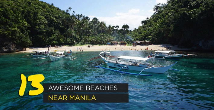13 Awesome Beaches Near Manila Philippine Beaches Top 100 Travel Blog Posts of 2014 by Social Shares