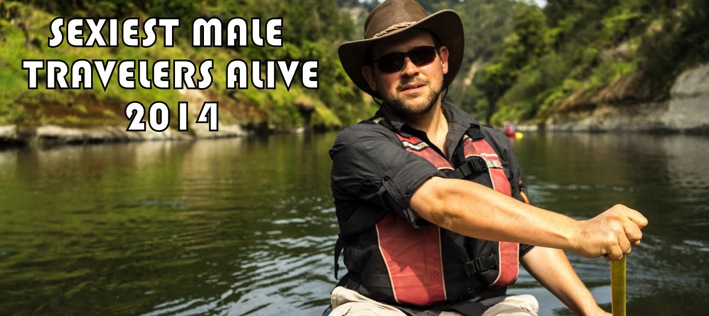 Sexiest Male Travelers Alive 2014 Mapping Megan Top 100 Travel Blog Posts by Social Media Shares