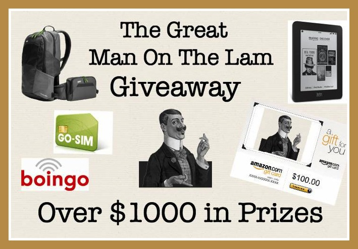 The Great Man On The Lam Giveaway