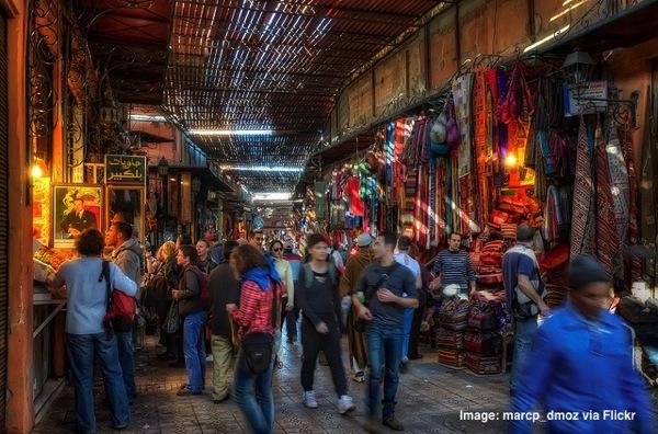 Souq Zoco Marrakech Morocco