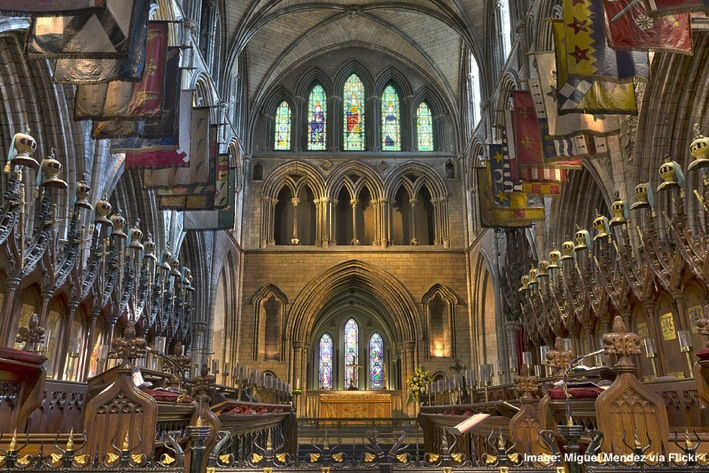 St Patrick s Cathedral Dublin Ireland