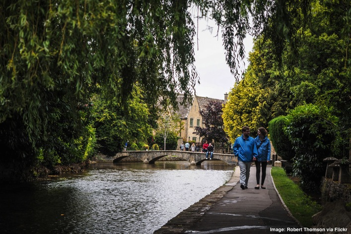 Bourton on the Water the Cotswalds England