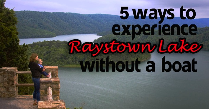 Man On The Lam Top 100 Travel Blog Posts of 2015 so far by social media shares  5 Ways to Experience Raystown Lake Without A Boat
