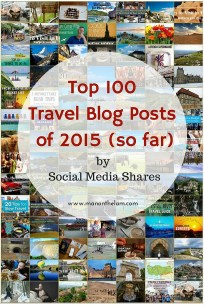 Top 100 Travel Blog Posts of 2015 Collage