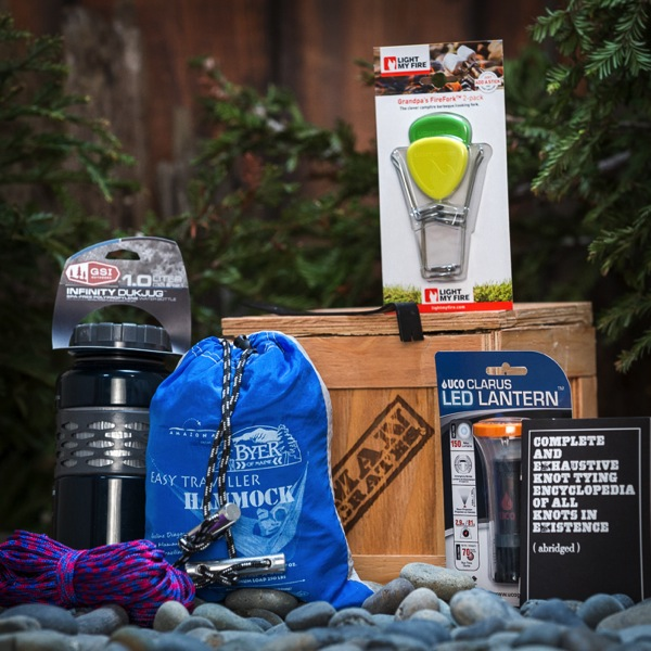 Camp great camping gear for outdoor men ManCrates Christmas gifts for men and women who love travel