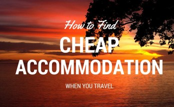 How to Find Cheap Accommodation When You Travel