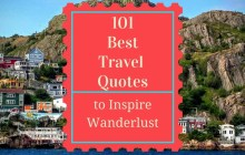 101 Best Travel Quotes to Inspire Your Wanderlust