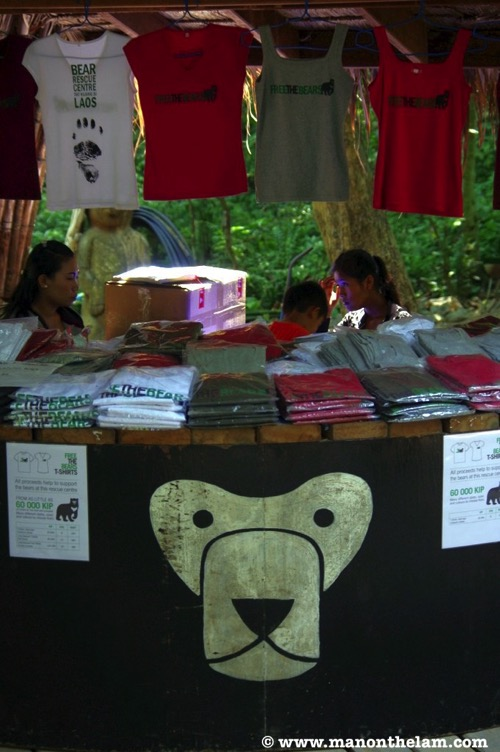 Free the Bears Laos Rescue Centre tshirts and merchandise for sale