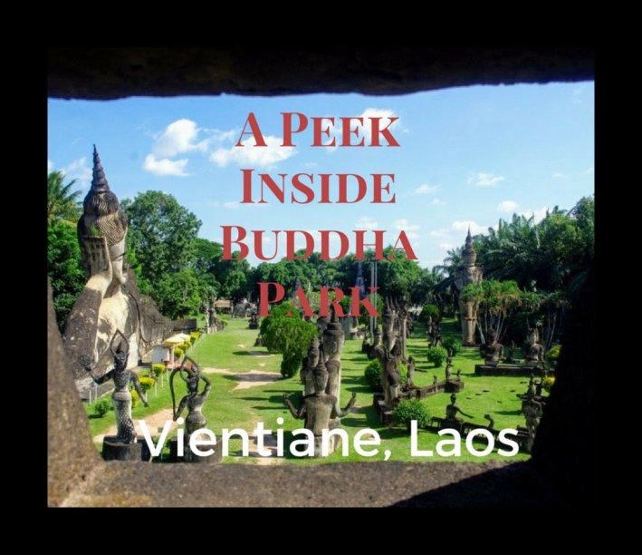 Buddha Park Vientiane Laos