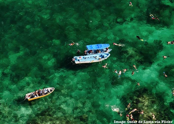 Snorkel Boat Tour Punta Cana Dominican Republic