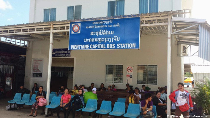 Vientiane Capital Bus Station Laos