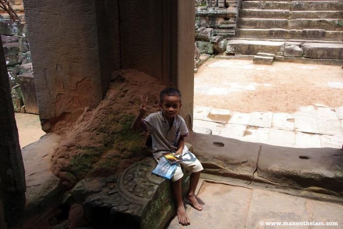 Cambodian child Siem Reap