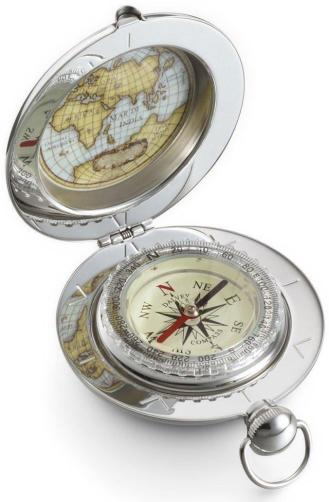 Dalvey Voyager Compass unique luxury travel gifts for men.jpg