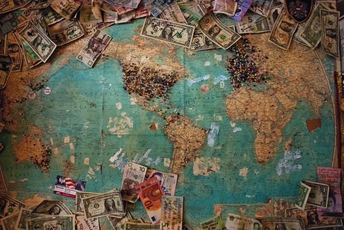 Cash money travel planning map christine roy 343235