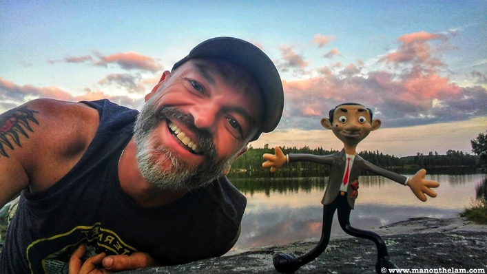 Road Trip Checklist planner northern Ontario Mr Bean mascot