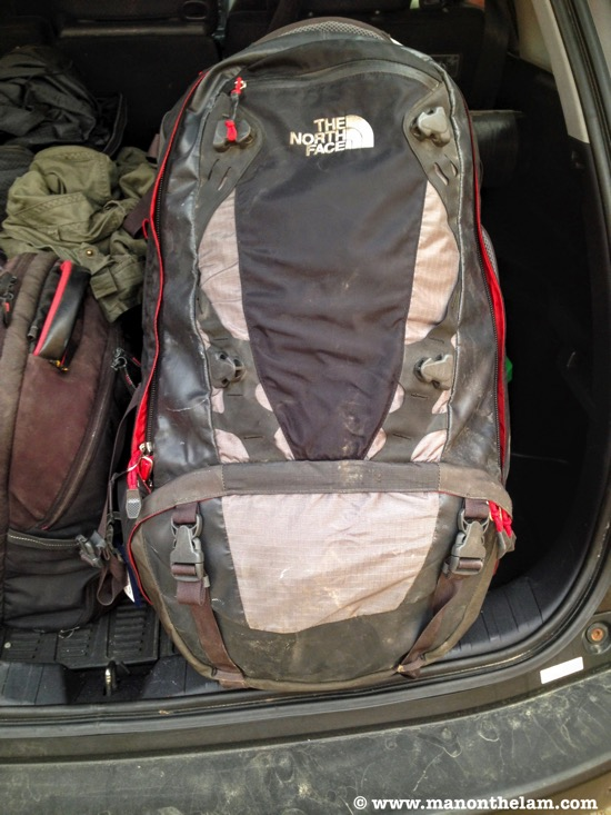 The North Face backpack Raymond Walsh