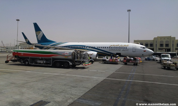 Oman Air Plane Muscat Oman