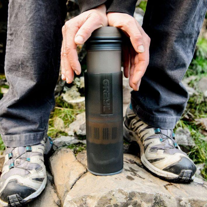 GRAYL Ultralight Water Purifier and Filter bottle