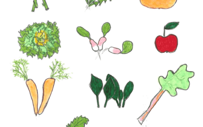 10 fruits et légumes d'avril en habit de gala