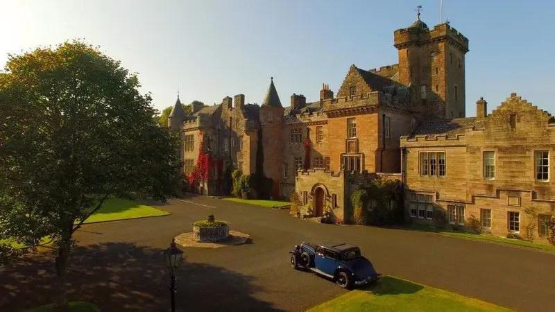 castle-hotels-near-glasgow-scotland