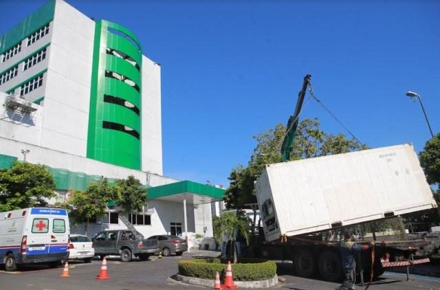 Susam retira câmaras para armazenar corpos dos hospitais