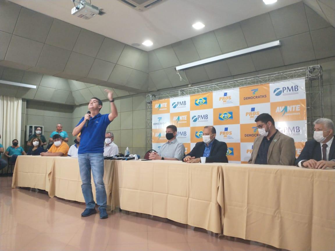 Marcos Rotta é confirmado como vice de David Almeida para as eleições deste ano