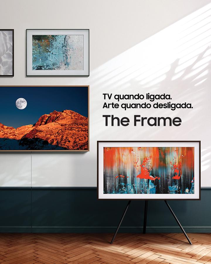 TV quando ligada, arte quando desligada: Samsung lança campanha sobre a nova The Frame