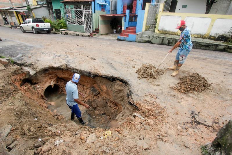 Prefeitura de Manaus impõe celeridade a obras emergenciais