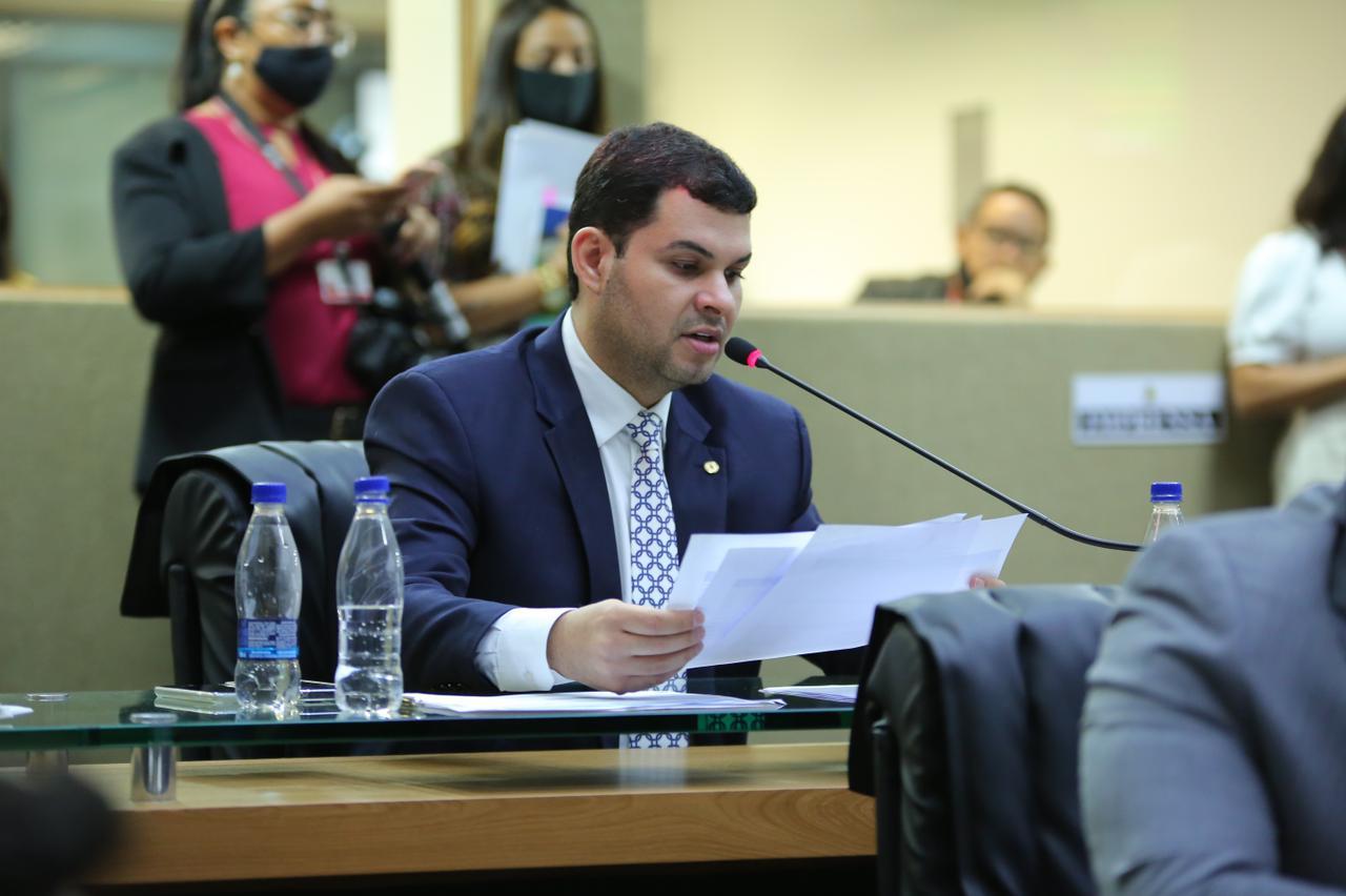 Saullo Vianna pede redução do ICMS da cesta básica e gás de cozinha