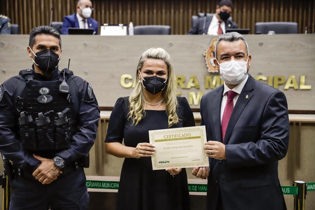 Câmara realiza sessão solene proposta por Peixoto em homenagem ao Dia da Polícia Civil